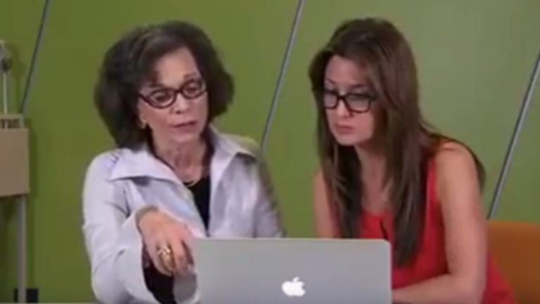 Dr Devra Davis with <i>Catalyst</i> reporter Maryanne Demasi in the episode Wi-Fried, since removed from online platforms by the ABC.