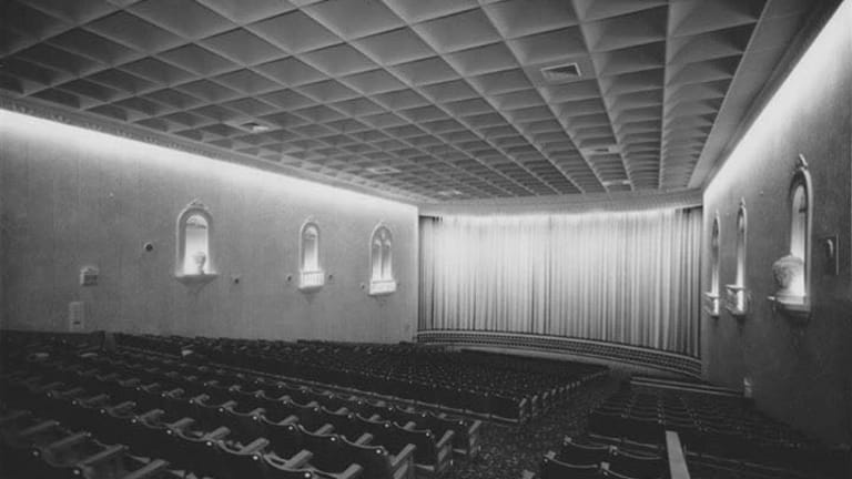Brisbane's?Lyceum, which later became the Dendy and Tribal Theatre, pictured in its heyday.?
