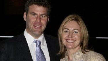 Stephen Fletcher and Margaret Cunneen