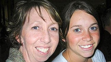 Margaret Massarotto and her daughter Nyssa before the accident.