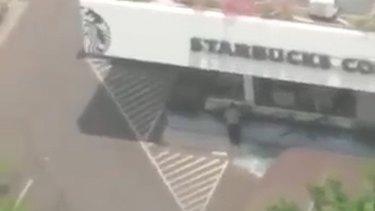 Starbucks in central Jakarta.