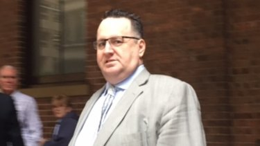 Andrew Sigalla leaves the Supreme Court during his trial last year.