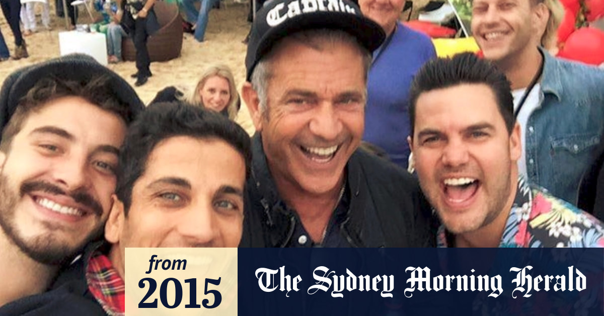 A Cheerful Mel Gibson Is Deep Into Filming Hacksaw Ridge In Sydney