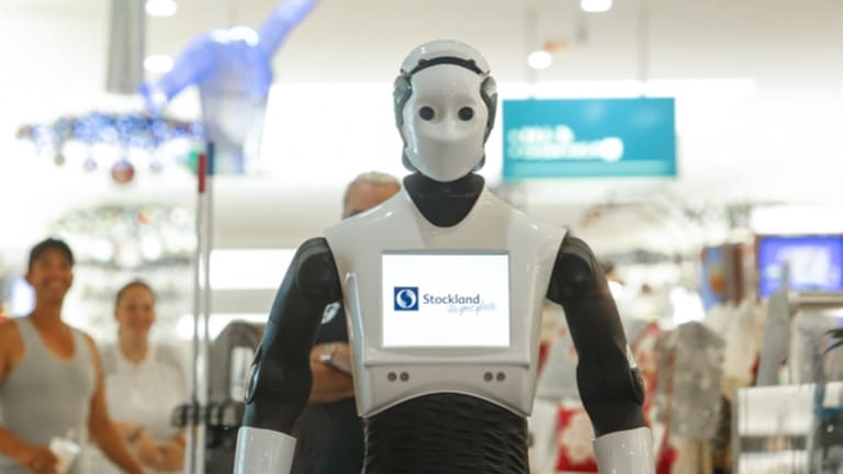 Chip, a 1.7m tall, 100kg social humanoid robot, was developed by Spanish company PAL Robotics.