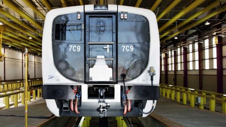Spanish company Talgo is proposing to run its state-of-the-art trains (pictured) between Canberra and Sydney.