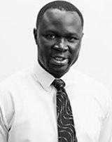 South Sudanese lawyer Maker Mayek.