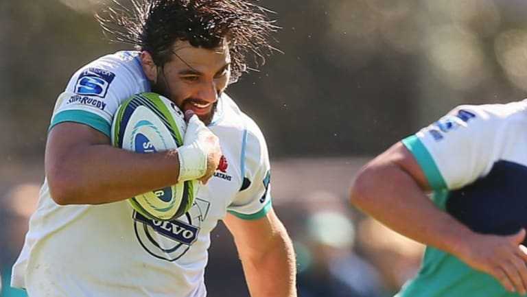 Old school: Jacques Potgieter brought an abrasive style to the NSW Waratahs.