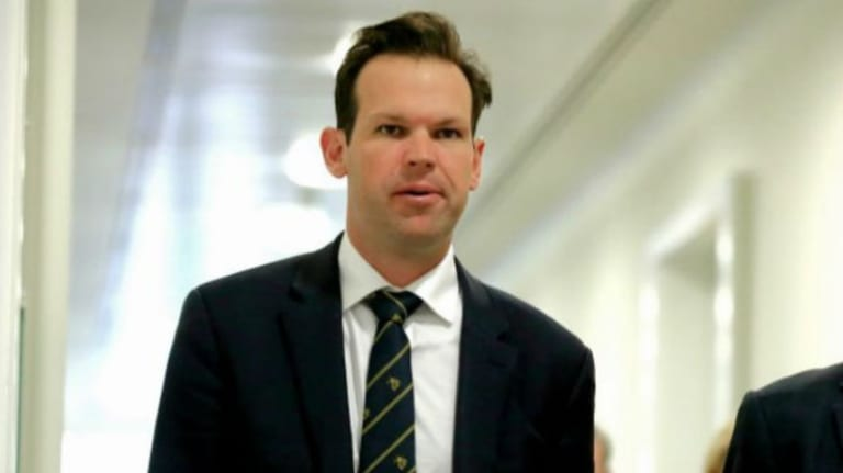 """On Thursday, Resources and Northern Australia Minister Matt Canavan said the ABC's coverage of an Indian finance ministry probe into the Adani group was """"nothing but fake news""""."""
