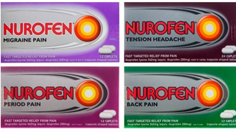 Products in the Specific Pain range.