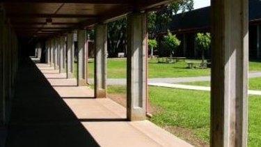 Gunn High School in Palo Alto.