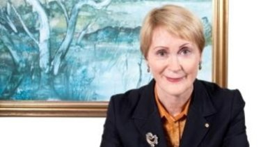 Kerry Sanderson is WA's first female governor.