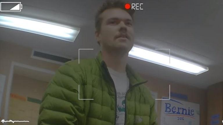 Ben Kremer captured in the undercover video.