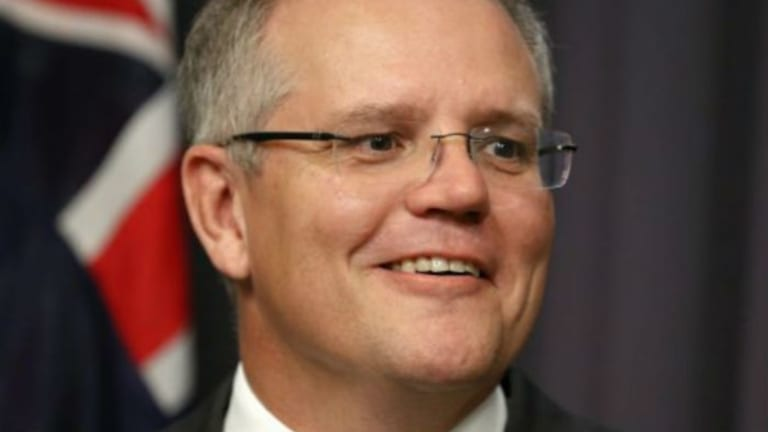 Treasurer Scott Morrison says achieving home ownership is proving more and more difficult.