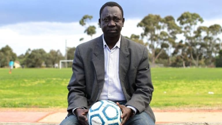 Youth worker and South Sudanese man Michael Apout.