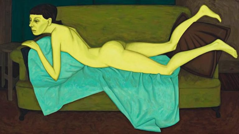 John Brack, The Boucher Nude, 1957 Sold for $1,500,000, August 2008.