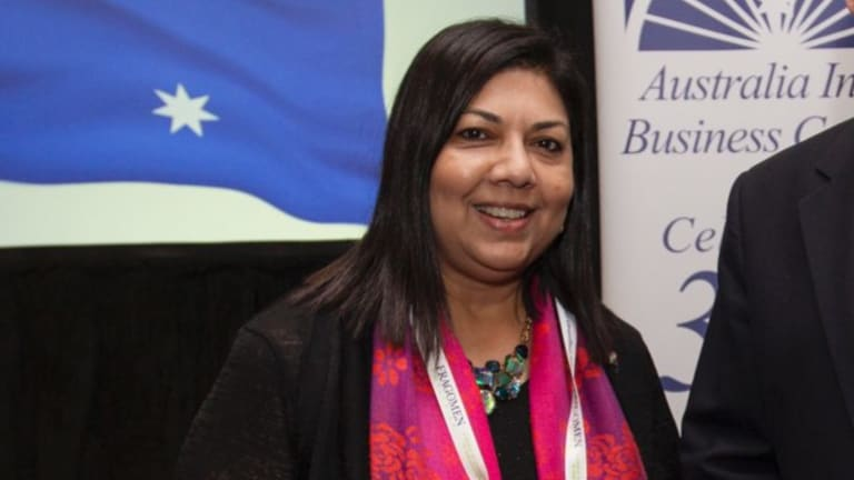 Australia India Business Council National chair Sheba Nandkeolyar.