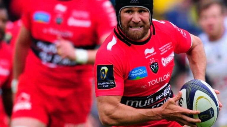 Matt Giteau heads to Japan after six years in France.