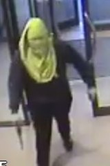 Image of an offender released by police.