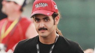 Sheikh Khalid bin Hamad al-Thani.