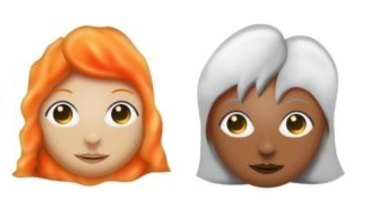 A red hair emoji is one of the most frequently requested.