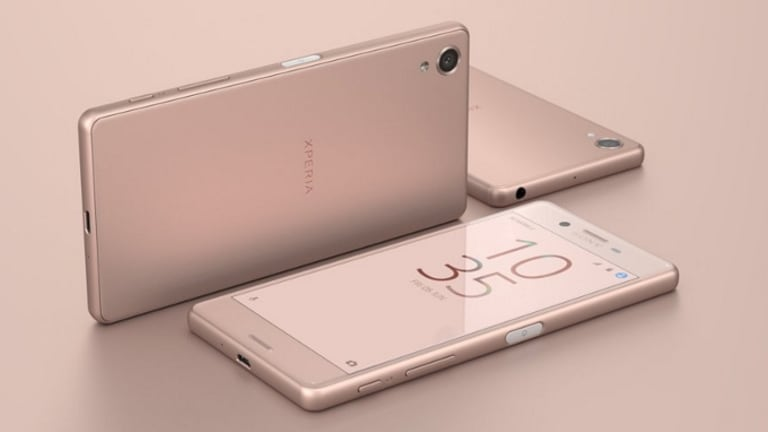 The X Performance has much softer edges than previous Xperia devices.