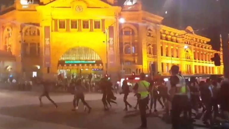 The so-called Apex gang came to public attention after a large-scale brawl in Melbourne's city centre last year.