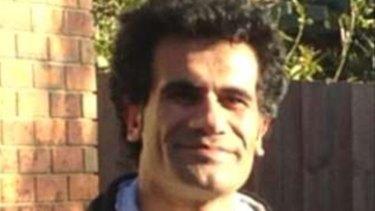 Iranian Kurd Fazel Chegeni, who died on Christmas Island.