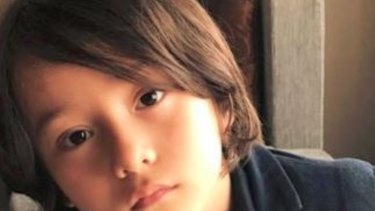 Julian Cadman was with his mother when terror struck.
