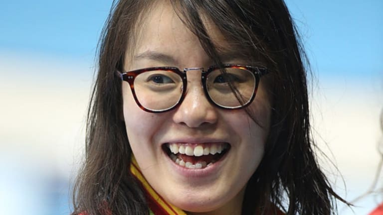 Bronze medal winner Fu Yuanhui of China openly talked about having her period while competing in the 4x100 medley relay on Sunday.