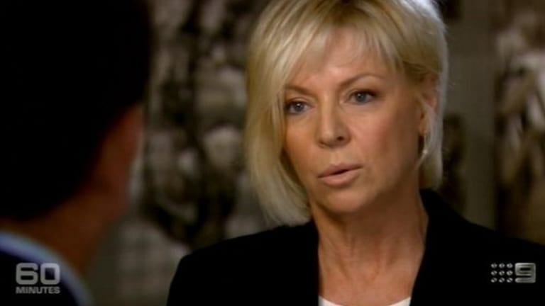 <i>60 Minutes</i> reporter Liz Hayes during an interview.