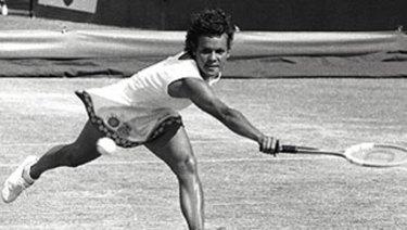 Tennis great Evonne Goolagong-Cawley.