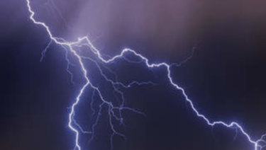 The man was killed by lightning at Kings Canyon.