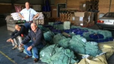 Club members are now sending linen over east and overseas.