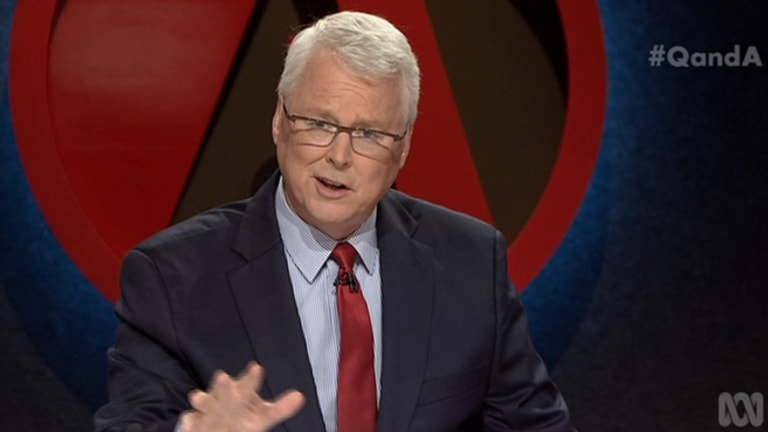 <i>Q&A</i> host Tony Jones. The top concern for TV Tonight viewers is ensuring ABC and SBS remain independent of government influence.