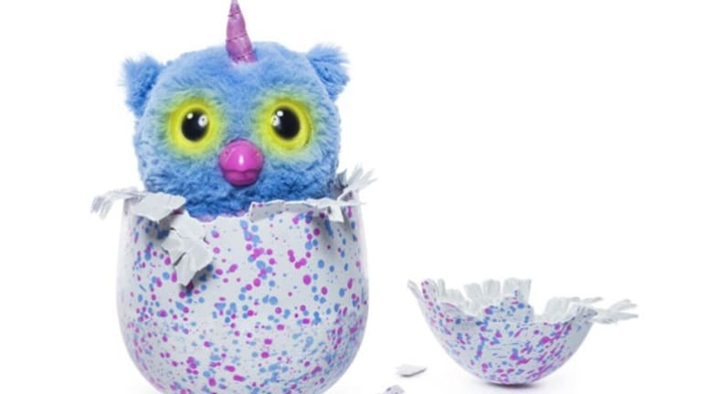 """The hatchimal is able to """"hatch"""" from its shell."""