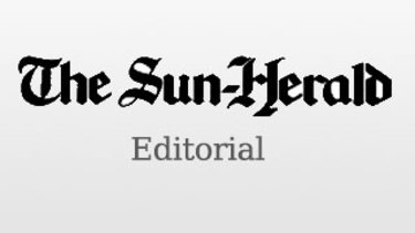 Sun Herald Editorial dinkus.