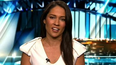 """""""I love my job"""": McLaughlin said she had not personally experienced stigma as a woman reporting on sport."""