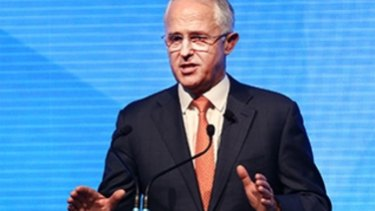 """Prime Minister Malcolm Tturnbull likes to talk about """"jobs and growth""""."""