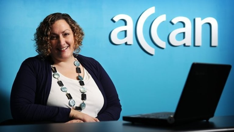 """Chief executive of the Australian Communications Consumer Action Network, Teresa Corbin, said consumers were """"very concerned"""" about private information being accessed offshore."""