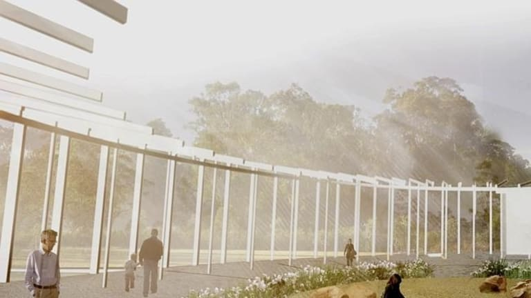 The proposed horticulture exhibition centre is expected to open in July 2016.