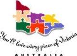Tourism Victoria's former logo.