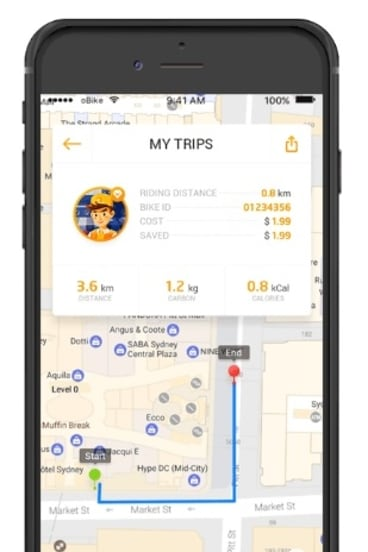 oBike is launching in Melbourne.