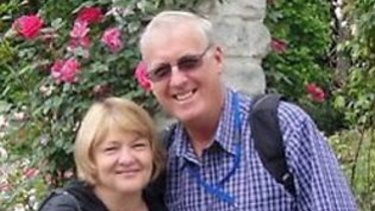 Mary and Rodney Burrows, who were on board the missing MH370.