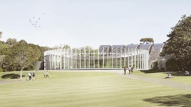 The centre will host several horticultural exhibitions every year.