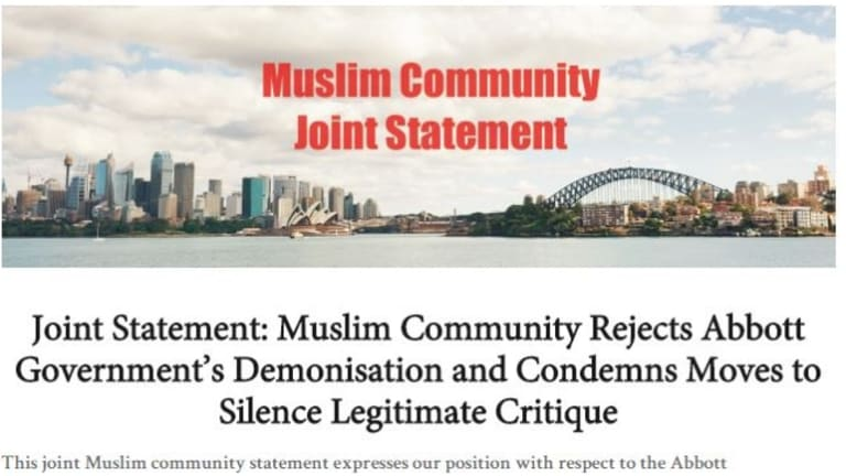 Part of the online statement.