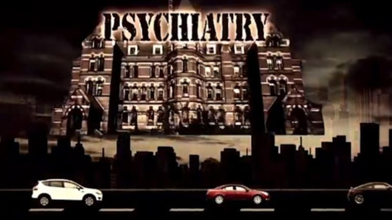Another still from Psychiatry friend or foe.