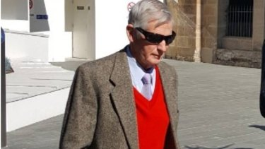 Unforgiven: Disgraced former Edmund Rice College teacher Brother John Roberts during a previous court appearance. He was jailed for at least six years on Friday.
