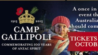 More than 40,000 people attended Camp Gallipoli.
