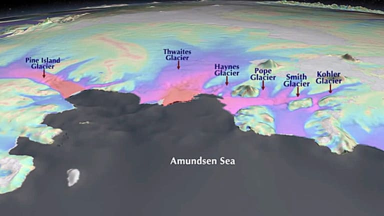 Researchers have found ice shelves in the Amundsen and Bellingshausen seas are the most susceptible to further ice loss.