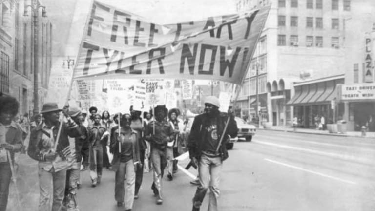 Civil rights march: Gary Tyler's case set off protests and inspired a song by UB40.